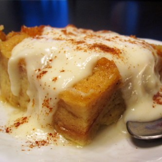 New Orleans-Style Bread Pudding With Whiskey Sauce