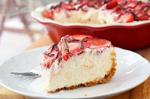 Strawberries And Cream Pie | Best Pie Recipes Ever: Perfect For Christmas And Special Holidays