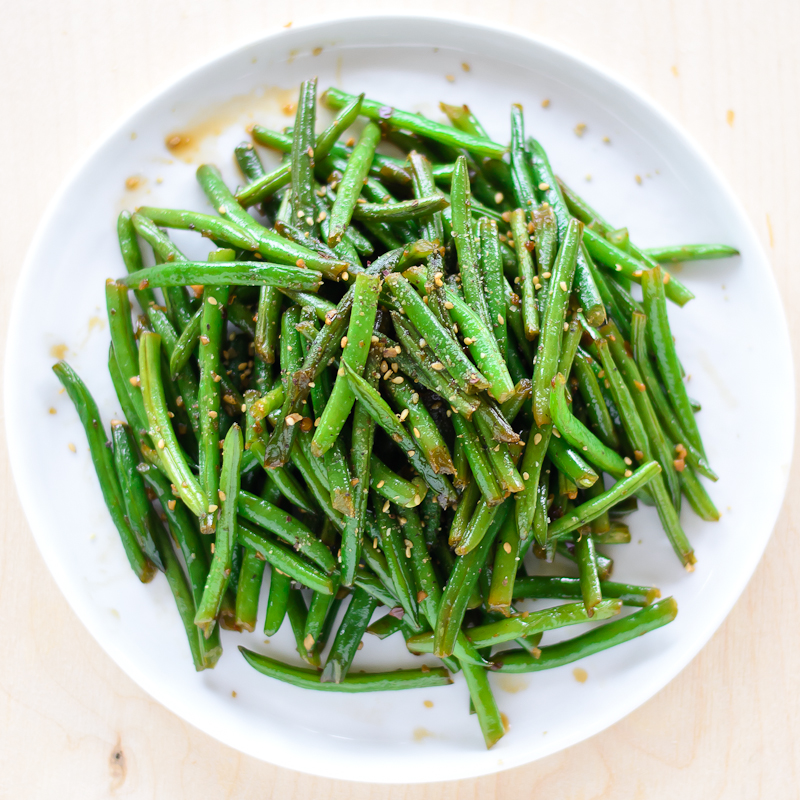 Asian-Style Stir Fried Green Beans