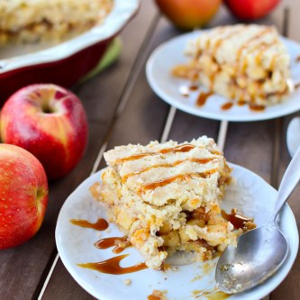 Cinnamon Apple Crunch Pie