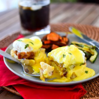 Pork Belly Benedict