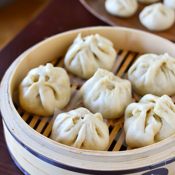 Steamed Pork Buns Baozi Recipe  Dishmaps