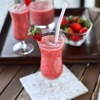 Strawberry Banana Daiquiris