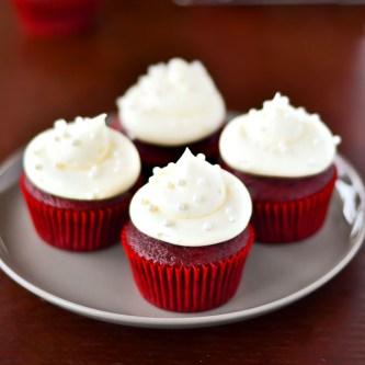 Charlene's Red Velvet Cupcakes