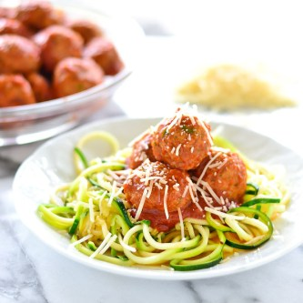 "Skinny ""Spaghetti"" and Meatballs"