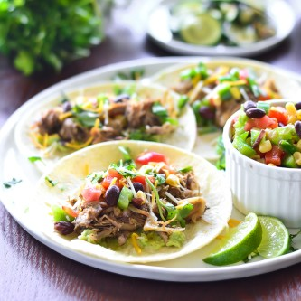 Snacktastic Sundays: Crock Pot Carnitas Tacos