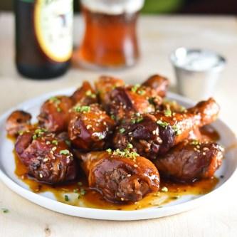 Snacktastic Sundays: Hot & Sticky Crock Pot Chicken