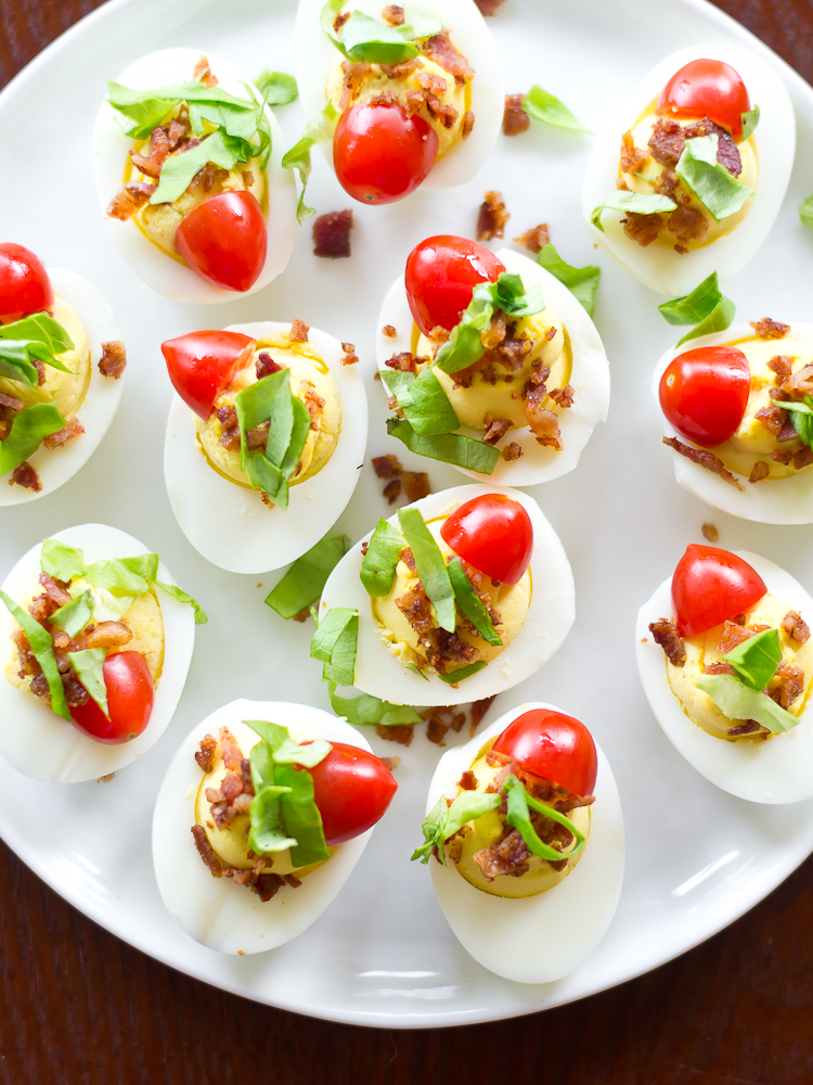 BLT Deviled Eggs 1