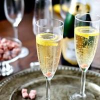 Champagne Cocktails + DIY Homemade Angostura Sugar Cubes