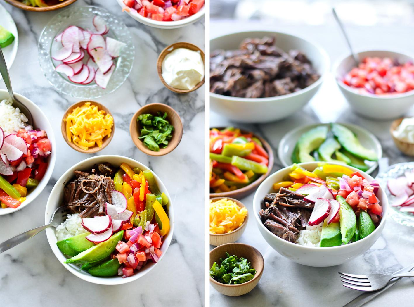 Burrito Bowl Collage 1