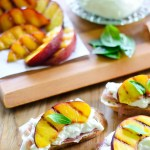 Grilled Nectarine Toasts 16