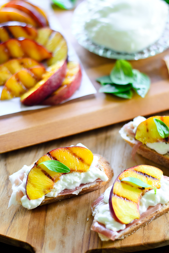 Grilled Nectarine Toasts 18