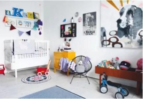 Quartos modernos para bebês e crianças - Just Real Moms
