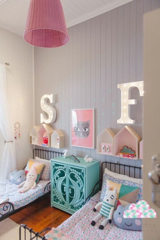 decoração quarto de menina - Just Real Moms