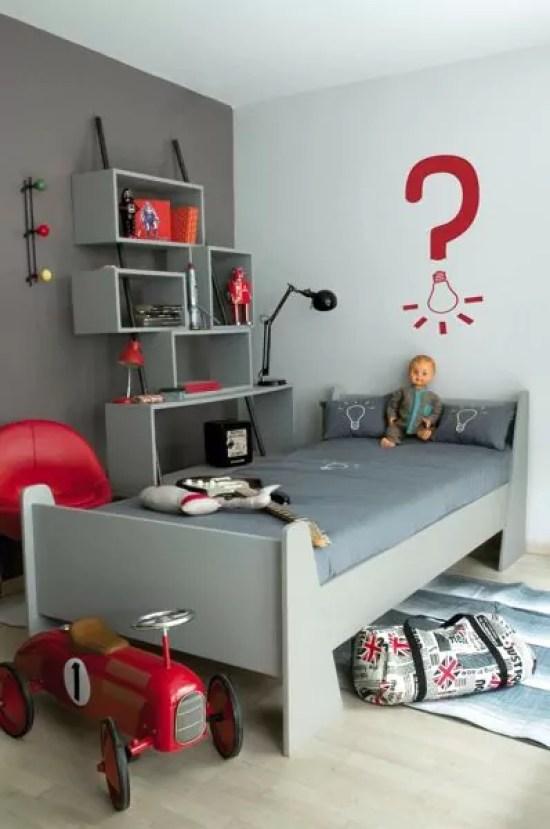 40 inspirações de quartos para meninos que fogem do azul ...