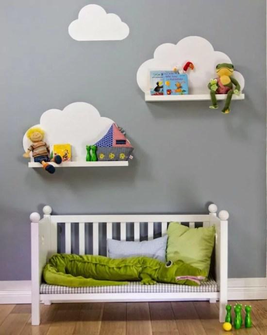 ideias para decorar as paredes do quarto de bebê e das crianças - Just Real Moms