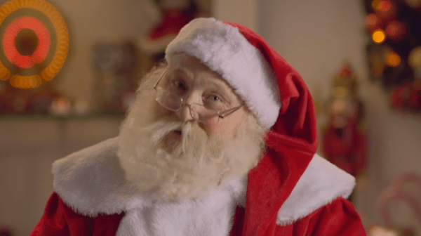 Vídeo do Papai Noel - Just Real Moms