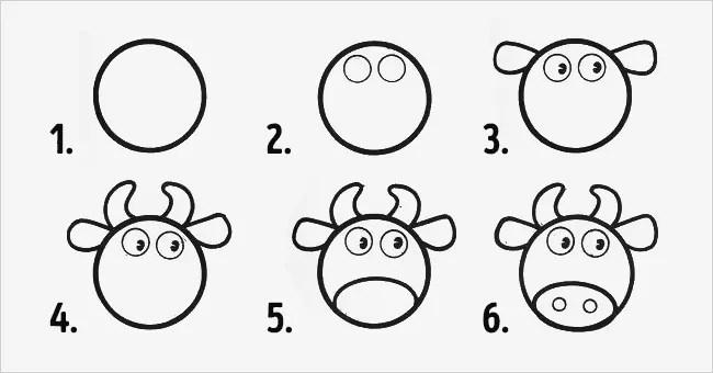 10 desenhos fáceis com círculos para fazer com as crianças