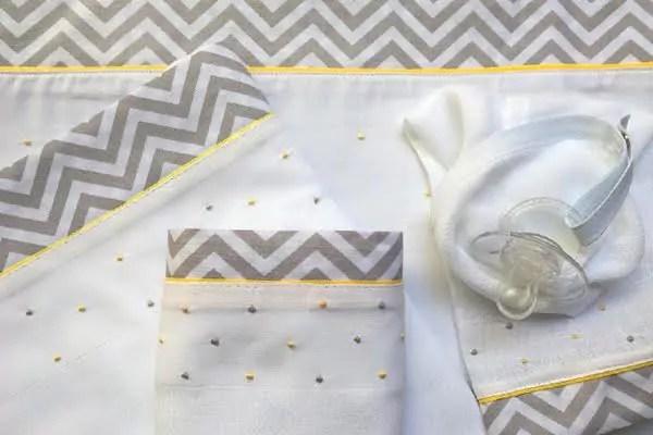 Enxoval bebê com produtos artesanais e super charmosos!