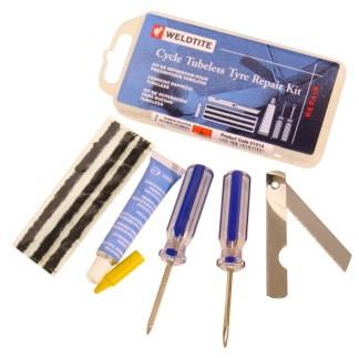 Weldtite tubeless puncture repair kit