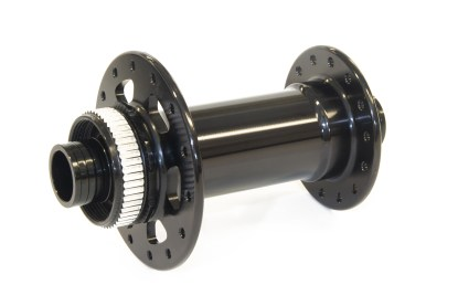 JRA centre-lock J-bend Boost 110 front hub