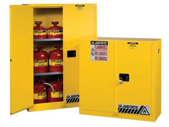 Safety Cans  Safety Cabinets  Spill Containment  Justrite