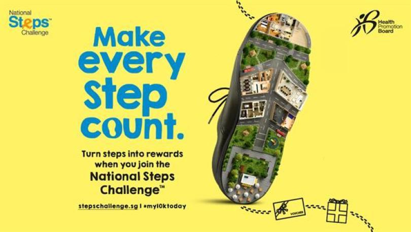 Image result for sg steps challenge