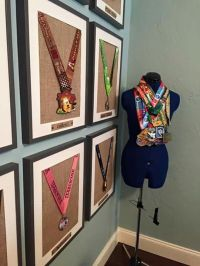 6 Creative Ideas To Display Your Medals | Just Run Lah!