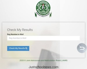 How to check your UTME Result
