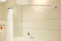 Shower Curtain Rails Just Shower Rails Circular Corner L Shaped