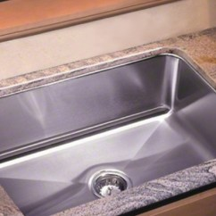 Large Kitchen Sinks Chalkboard For Wall Capacity Stainless Steel Usa Made By Just