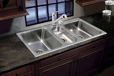 stainless steel undermount kitchen sink 2 person table conventional sinkware by just