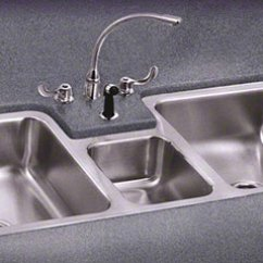 Triple Kitchen Sink Remodels On A Budget Outdoor Bowl Sinks By Just Durable Stainless Steel Undermount
