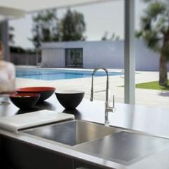 Undermount Stainless Sinks Kitchen Cheap Countertops Steel Flush Mount Sink – Just