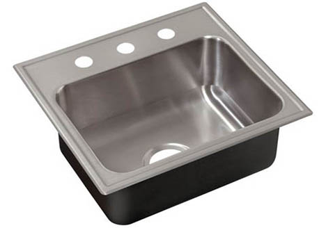 slx 2225 a gr stainless steel sinks and faucets by just
