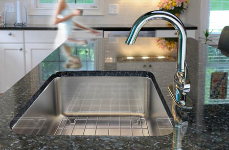 undermount single bowl kitchen sink tables and chairs sets made in usa just sinks conventional line of sinkware