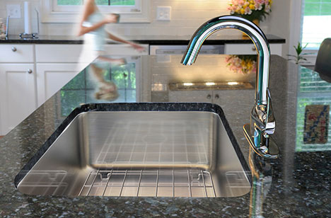 single bowl undermount sink made in usa just sinks