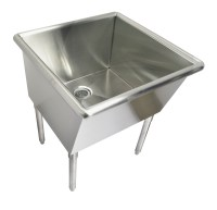 Free-standing Laundry Room Sink Mud Room Sinks by Just