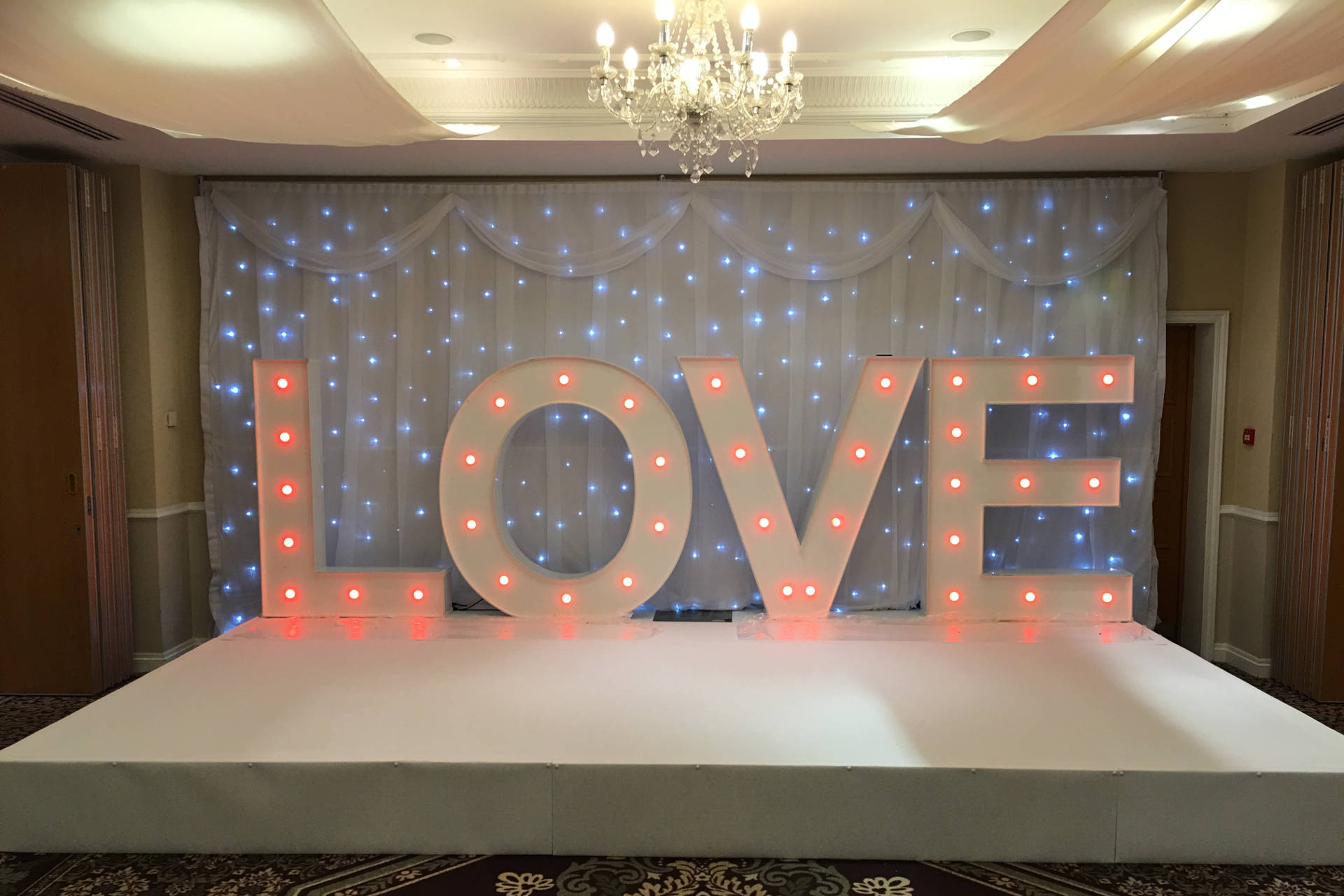 Indoor Stage Hire Portable Stage Hire Wedding Stage Hire  Just Smile