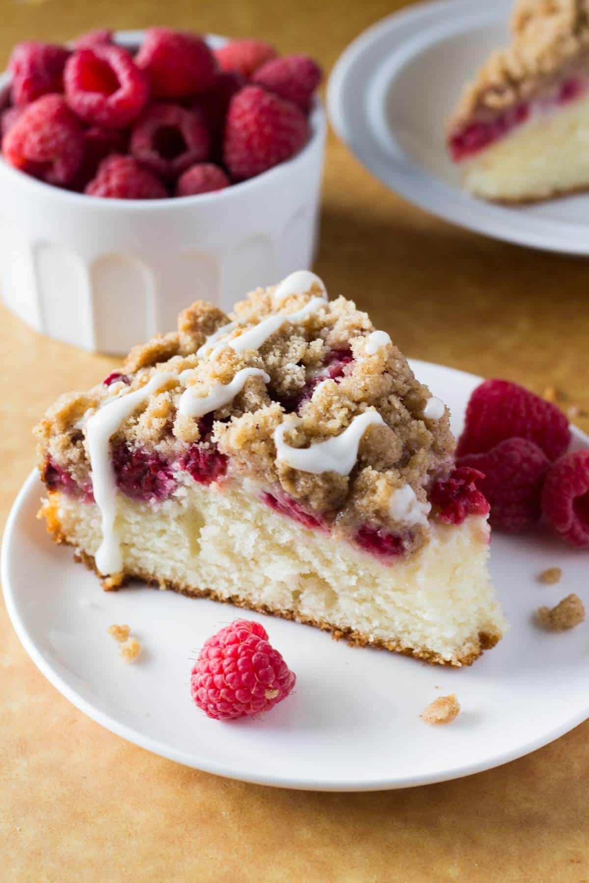 Raspberry Coffee Cake  Just so Tasty