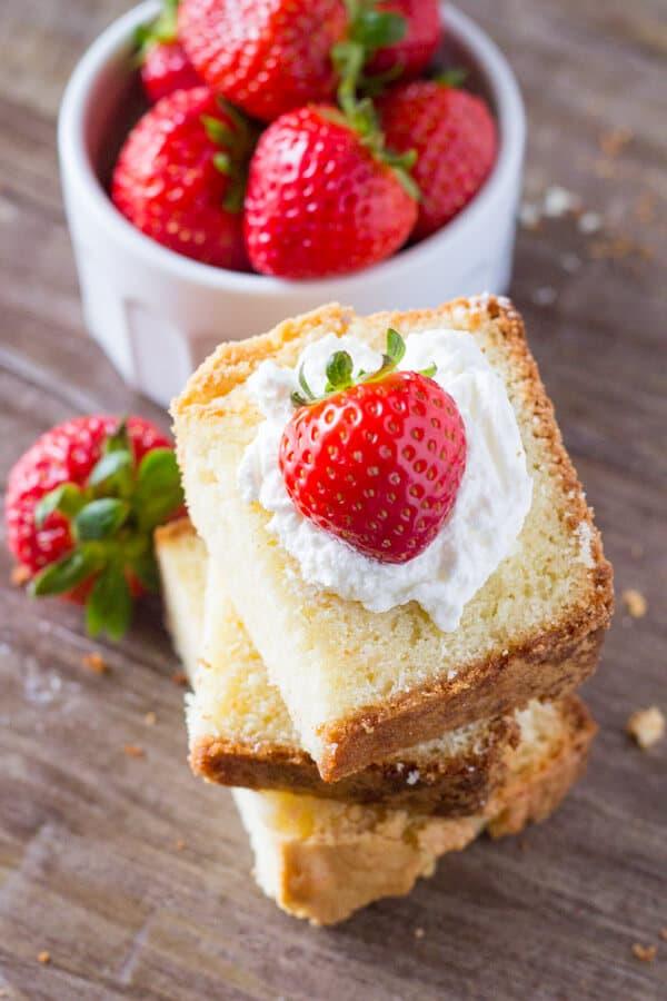 Vanilla Pound Cake Just so Tasty
