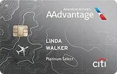 Best Annual Fee Credit Cards - Citi AAdvantage Platinum Select World Elite Mastercard