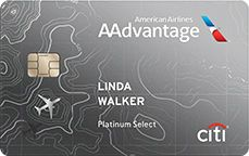 Best Annual Fee Credit Cards - Citi AAdvantage Platinum Select World Elite Mastercard