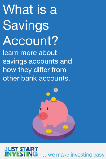 What is a Savings Account - Pinterest