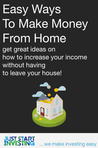 Make money from home - pinterest