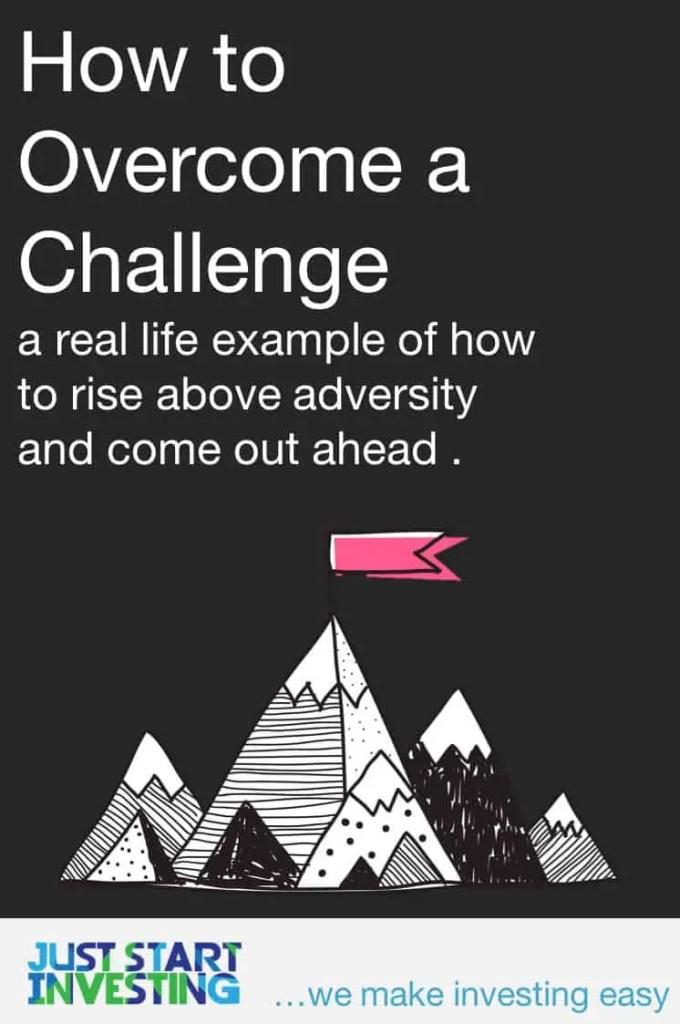 Overcome a Challenge - Pinterest
