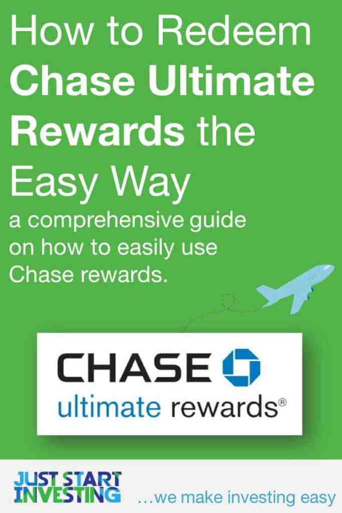Redeem Chase Ultimate Rewards - Pinterest