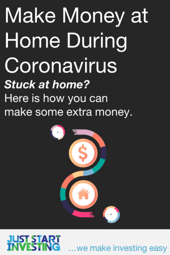 Make Money at Home Coronavirus - Pinterest