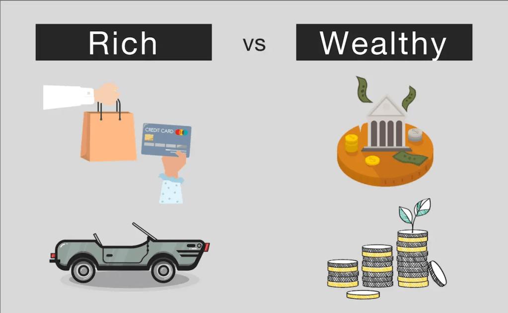 Rich vs Wealthy Example