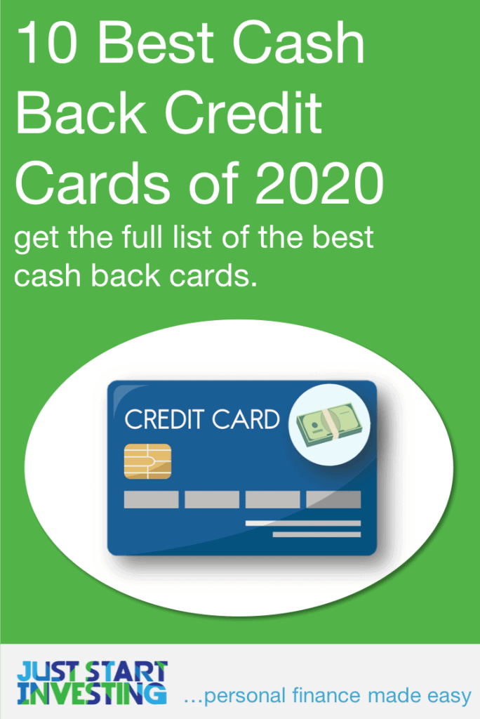 10 Best Cash Back Credit Cards